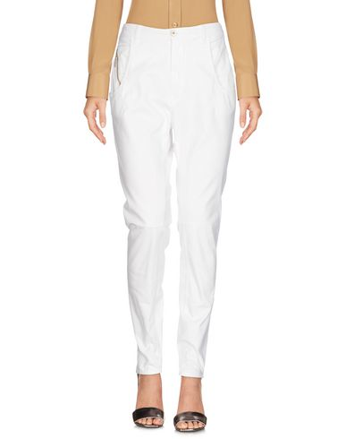 MANILA GRACE Casual Pants in Ivory