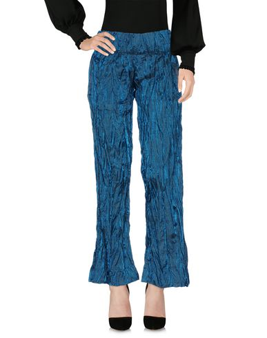 MARTINA SPETLOVA Casual Pants in Deep Jade