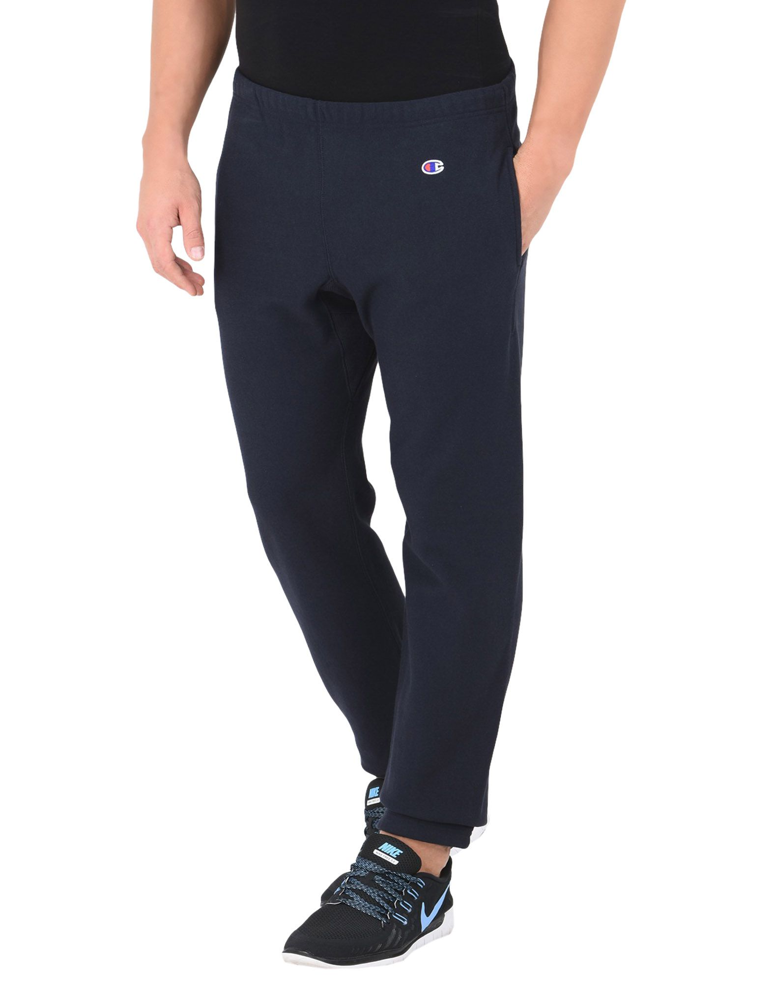 72502ea3eb7 Champion Reverse Weave Elastic Cuff Pants Logo Small - Athletic Pant ...