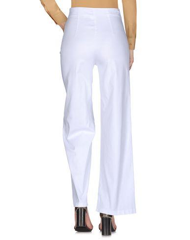 Pantalon Blanc Blanc Rocca Cristina Cristina Pantalon Cristina Rocca TFaggq