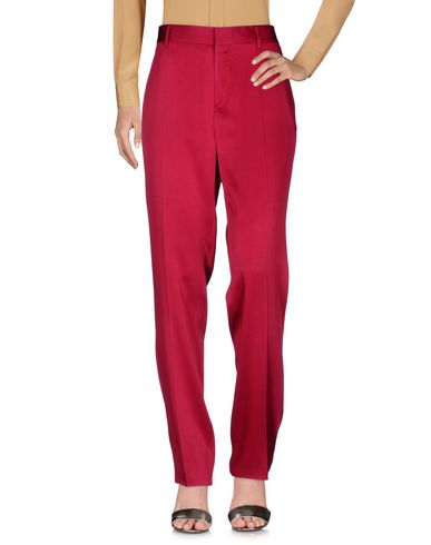 flared satin trousers