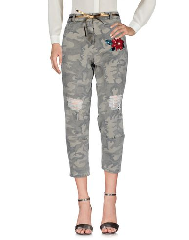 GOLD Casual Pants in Military Green