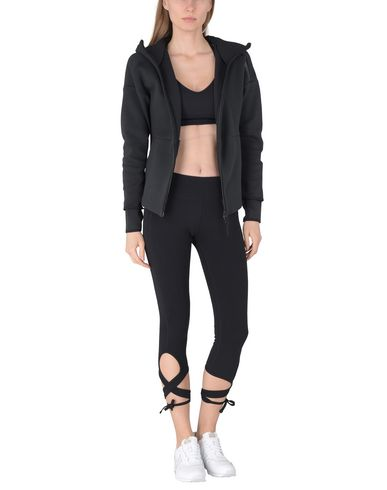 DKNY MID-RISE STRAPPY CROP LEGGING W/ RIBBED WAISTBAND Leggings