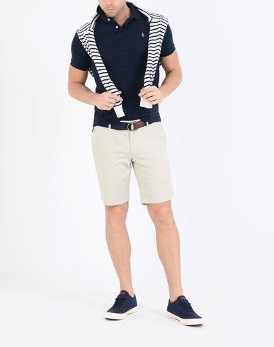 POLO RALPH LAUREN Stretch Military Short Shorts