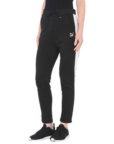 PUMA Classics Logo Pant,open hem Pantalón