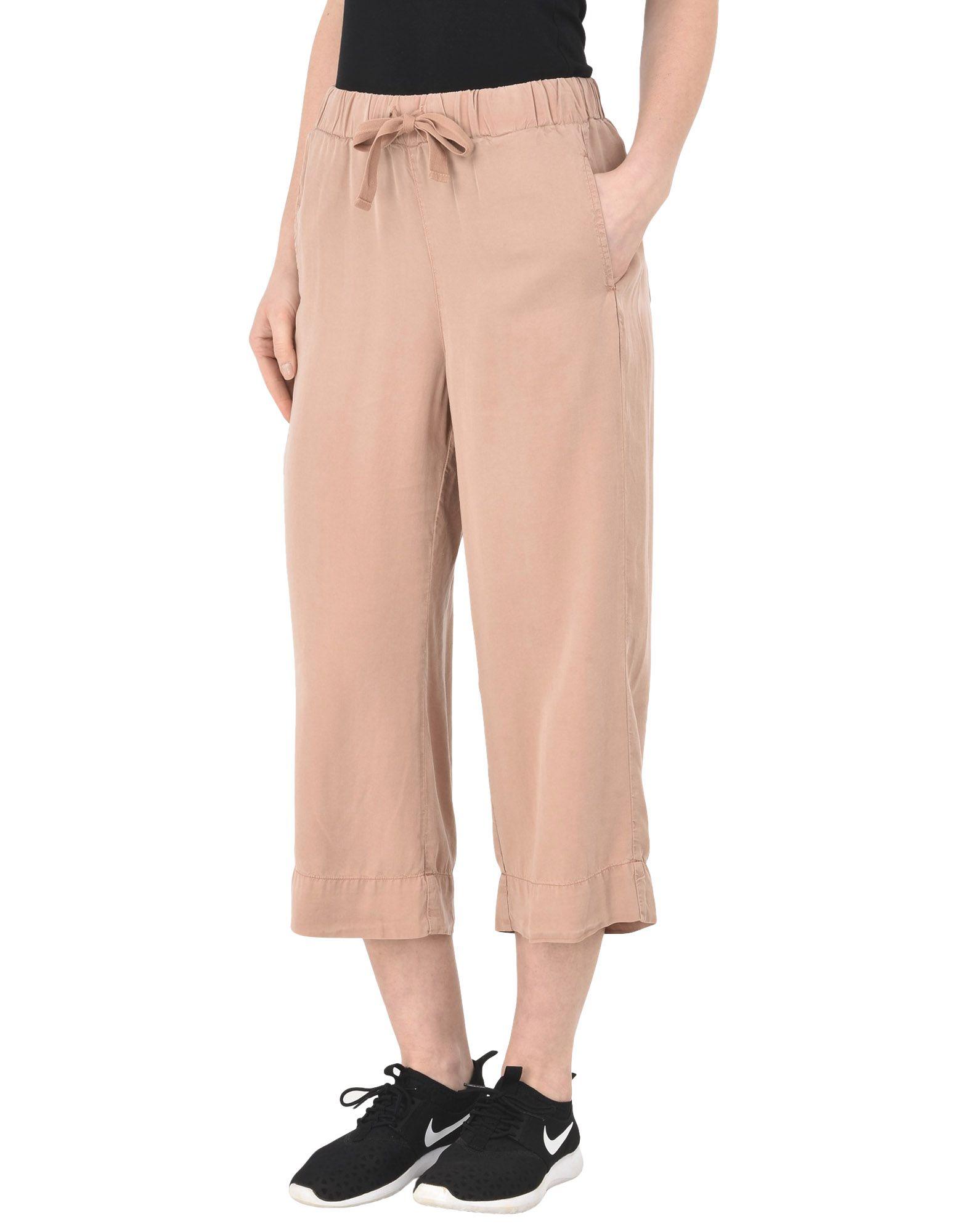 Pantalone Dritto Deha Cropped Wide Leg Pants - damen - 13168430FD
