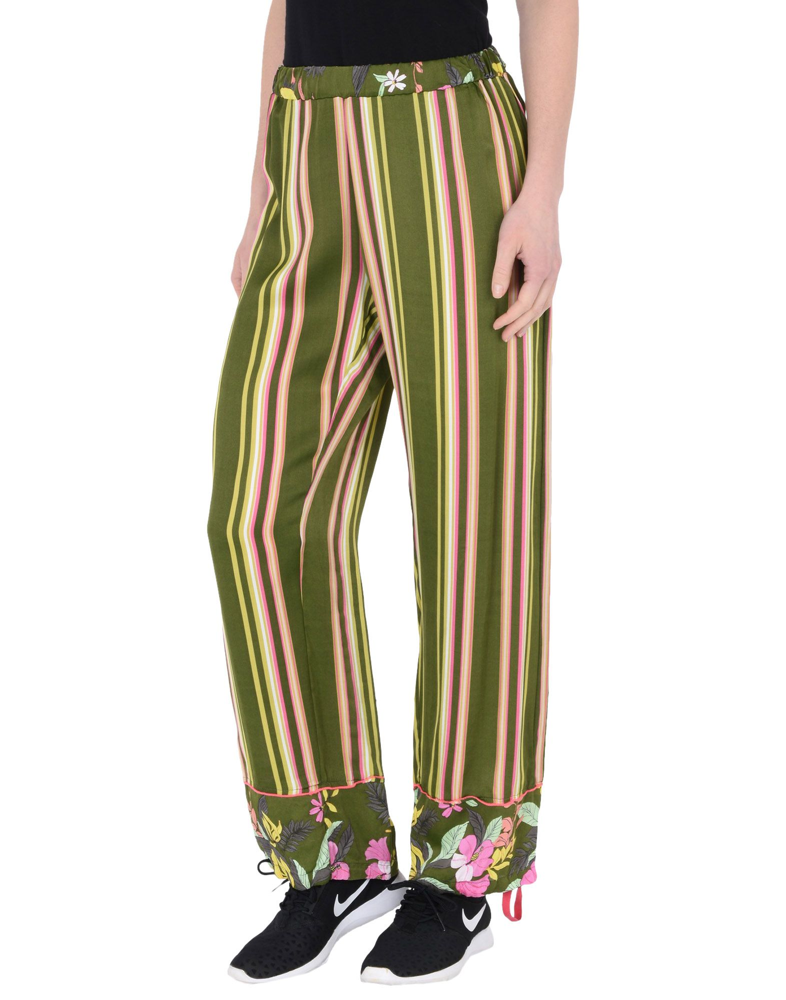 Pantalone Deha Wide Leg Printed Pants - Donna - Acquista online su ea2HHY9RS