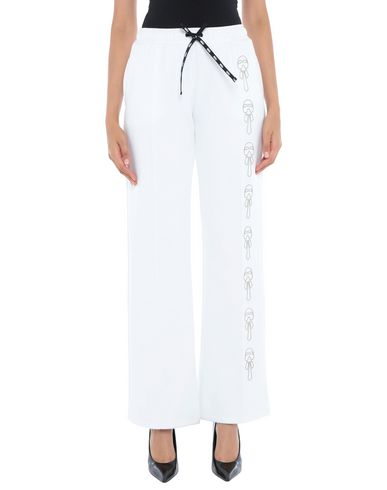 Fendi Casual Pants In White