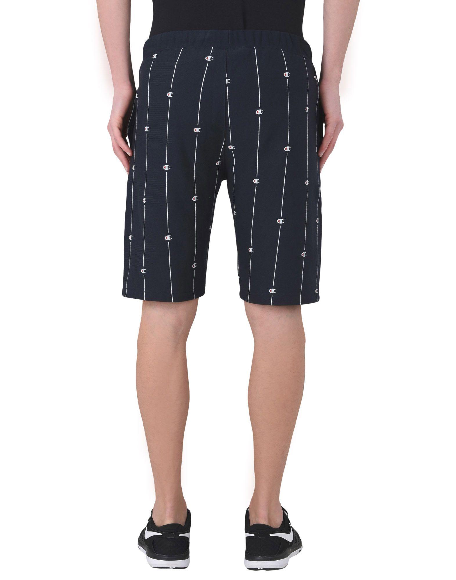 Pantalone Felpa Champion Reverse Weave Allover Bermuda - Uomo - - Uomo 13178317QJ c181d1