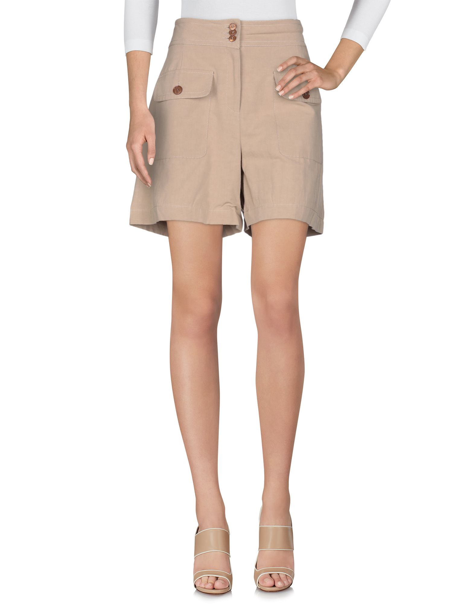 Women Online Gold Shortsamp; Bermuda Case EHYD29WI