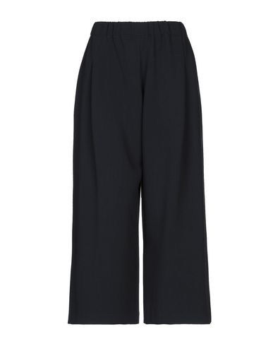 MONOCROM Cropped Pants & Culottes in Dark Blue