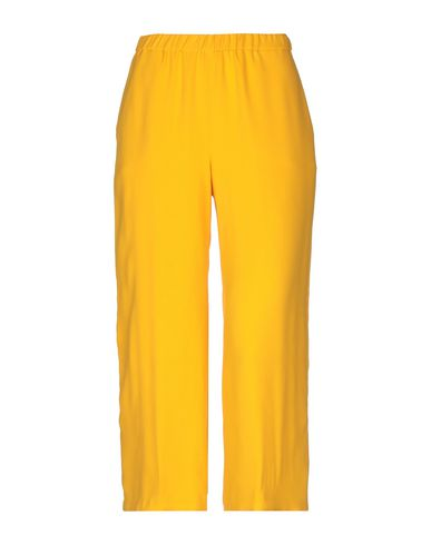 ONE Cropped Pants & Culottes in Ocher