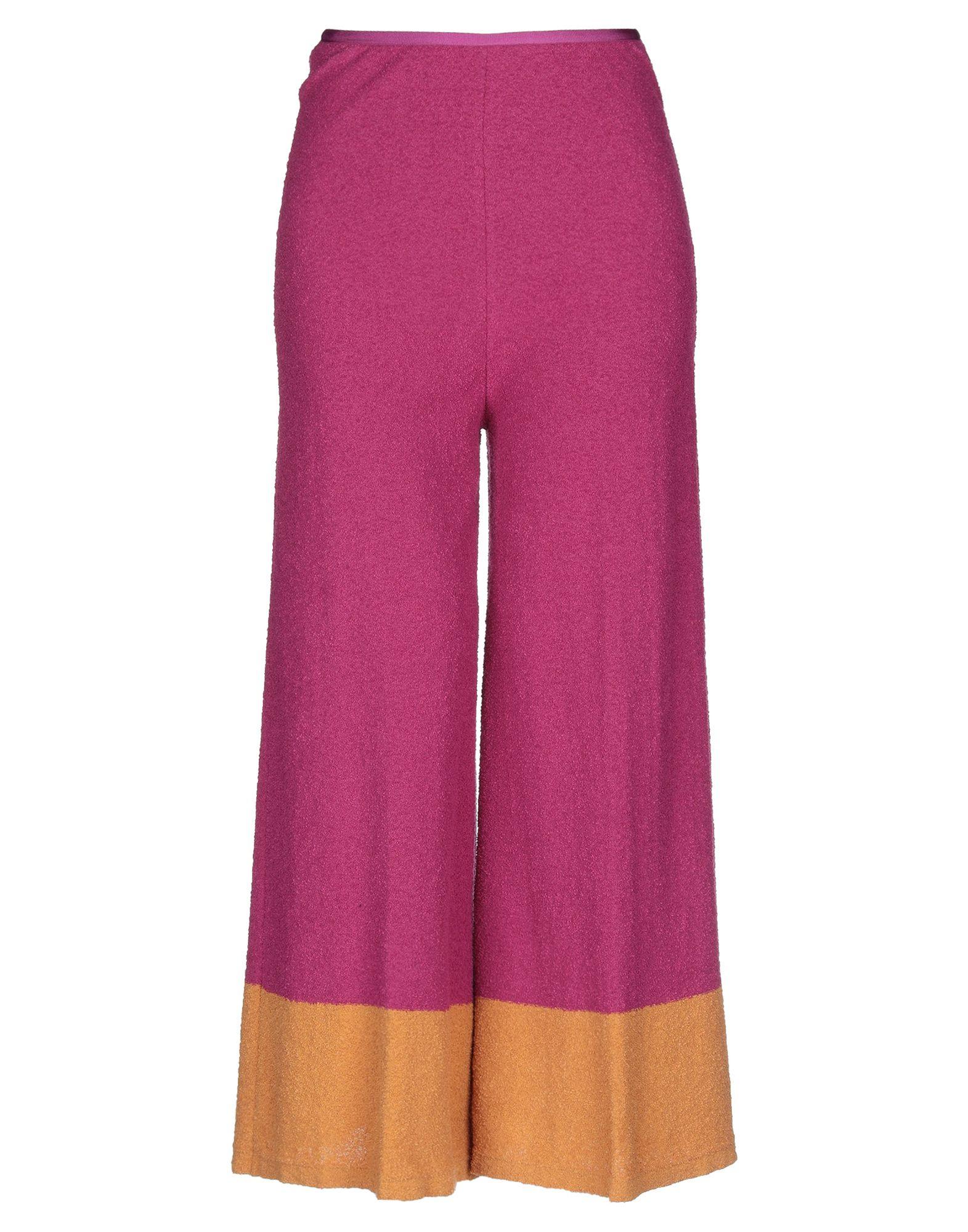 Pantaloni Cropped Cropped E Culottes Siyu donna - 13291909MF  Zähler echt