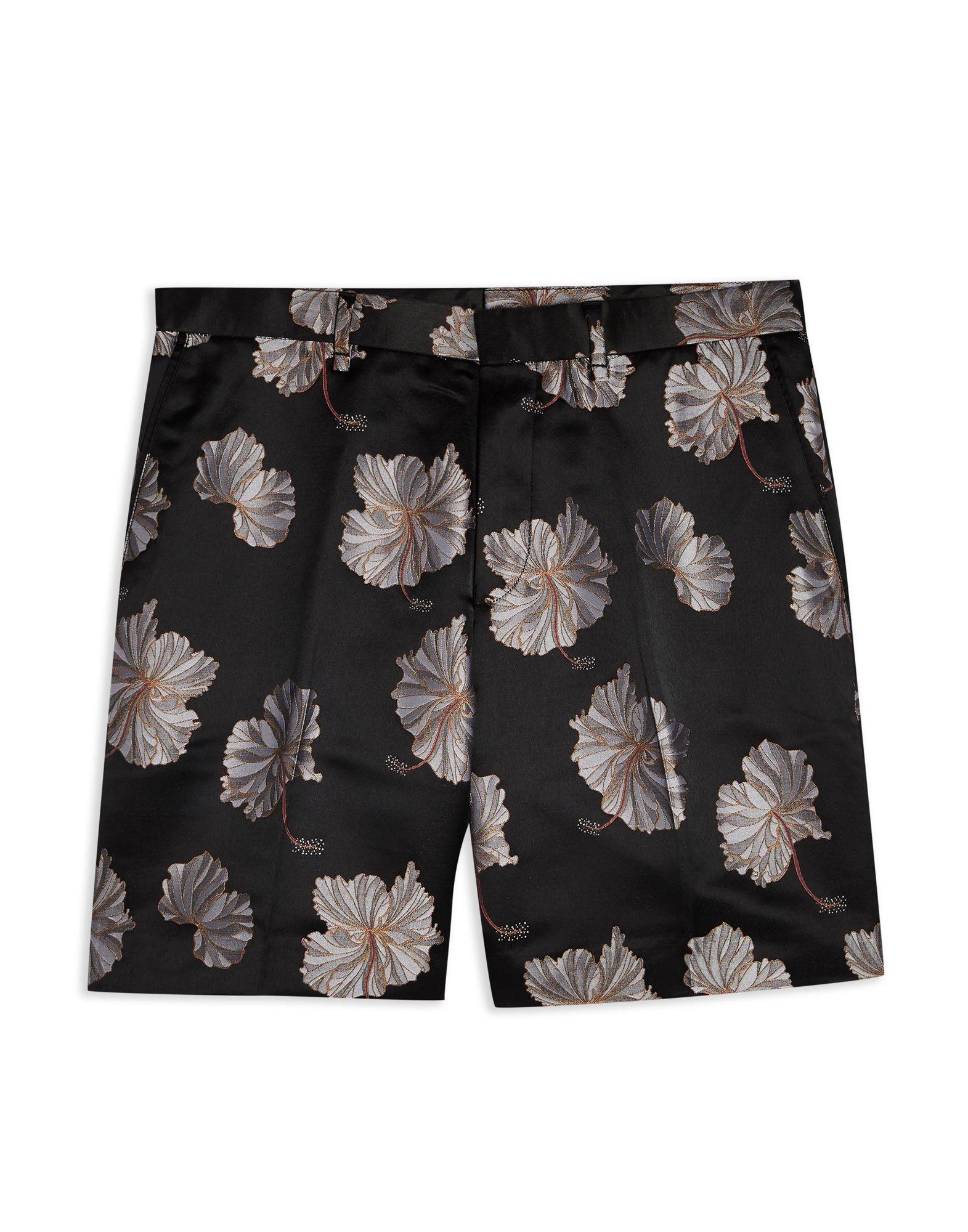 Shorts & Bermuda Topman Back Floral Floral Smart Shorts - uomo - 13359001RR  gute Qualität