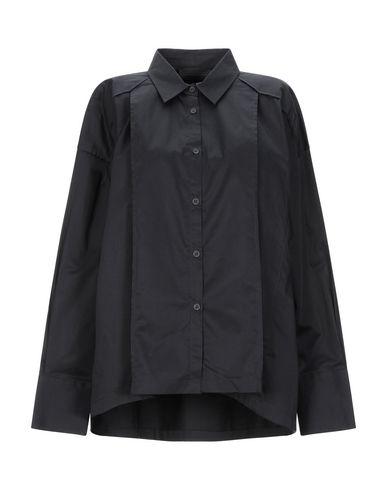 Diesel Black Gold Solid Color Shirts & Blouses In Black