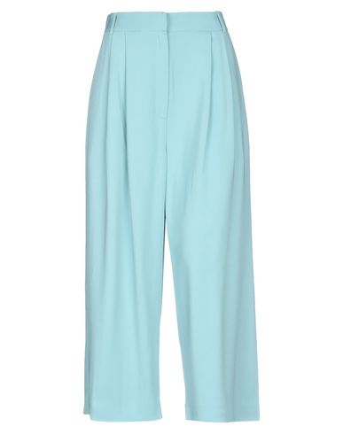 Tibi Cropped Pants & Culottes In Turquoise