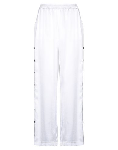 Gold Hawk Casual Pants In White