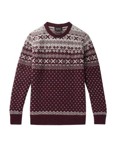 Howlin' Sweater In Maroon