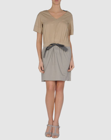 HOSS INTROPIA Short Dress in Light Brown