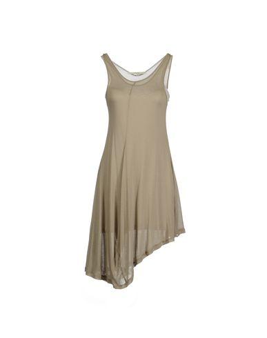 HACHE Midi Dress in Khaki