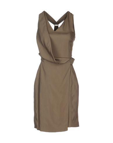 GIULIANO FUJIWARA Short Dress in Khaki