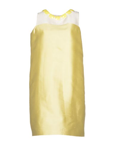 RAOUL Short Dresses in Light Yellow