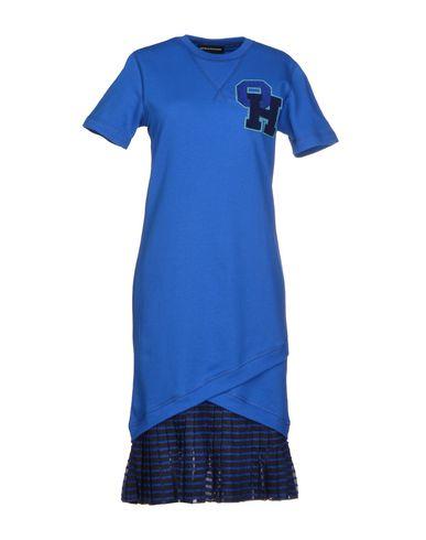 OSTWALD HELGASON Knee-Length Dress in Blue