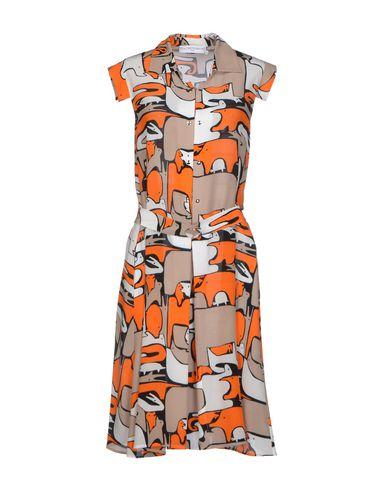 JC DE CASTELBAJAC Short Dress in Orange