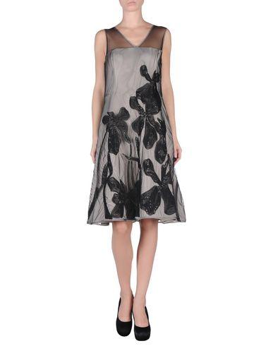 HALSTON HERITAGE Knielanges Kleid