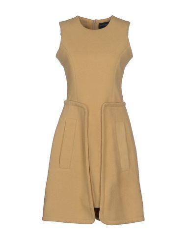 ANTIPODIUM Short Dress in Sand