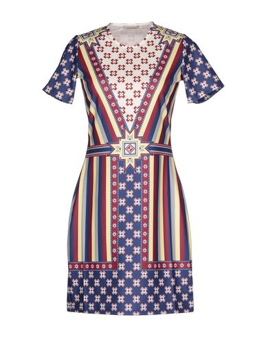 EMMA COOK Short Dress in Maroon