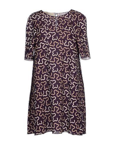 ANDREA INCONTRI Short Dress in Deep Purple