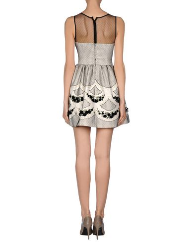 RED VALENTINO SHORT DRESS, BEIGE