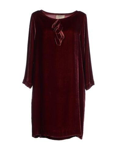 DIEGA Short Dress in Maroon