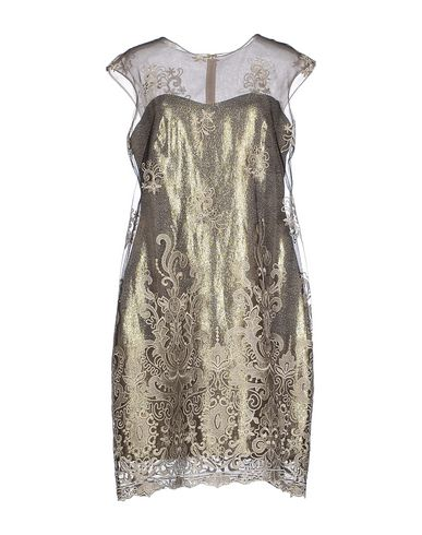 NOTTE BY MARCHESA Short Dress in Gold