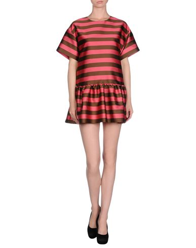 Red Valentino Short Dress, Coral