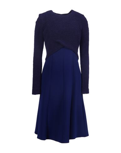 THAKOON Knee-Length Dresses in Blue
