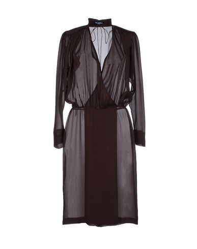 PEDRO DEL HIERRO MADRID Knee-Length Dress in Cocoa