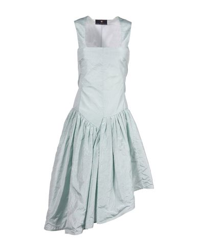 WES GORDON Knee-Length Dress in Light Green