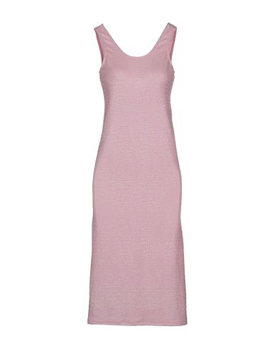 AMERICAN RETRO Midi Dress in Pink