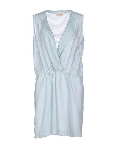 MOMONÍ Short Dress in Sky Blue