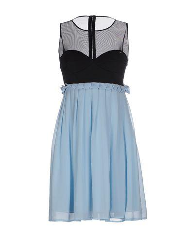MANGANO Short Dress in Sky Blue