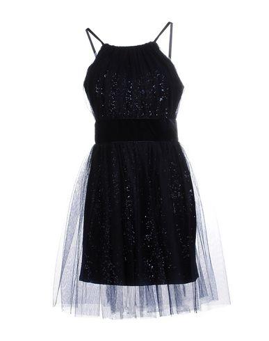 NOTTE BY MARCHESA Short Dress in Dark Blue