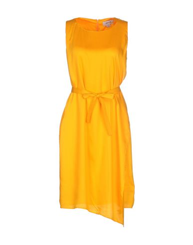 READY TO FISH BY ILJA Short Dresses in Apricot