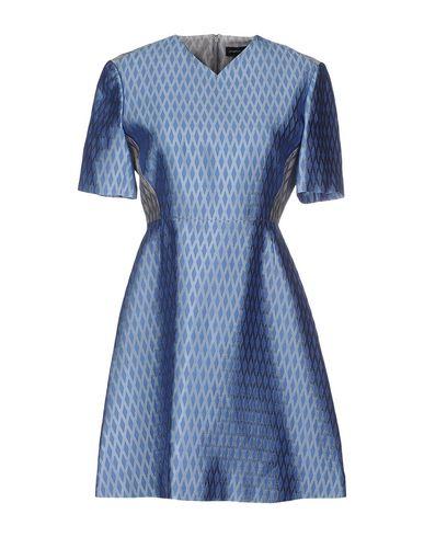 JONATHAN SAUNDERS Short Dress in Pastel Blue