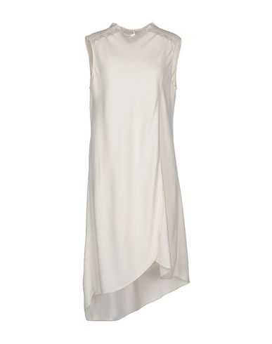 PHILOSOPHY DI ALBERTA FERRETTI Knee-Length Dress in White