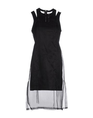 SILENT DAMIR DOMA Knee-Length Dresses in Black