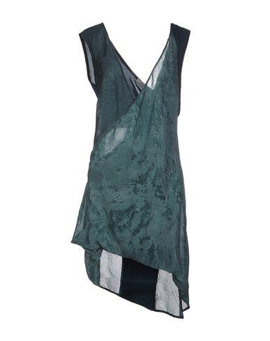 ALESSANDRA MARCHI Short Dress in Dark Green