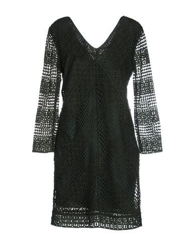 PEDRO DEL HIERRO Short Dress in Dark Green