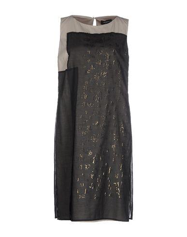 CIVIDINI Short Dress in Black